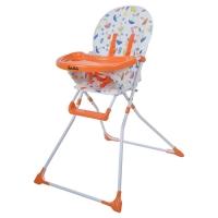 BEIBEILE BABY PRODUCTS Стул для кормления, SENCILLO ЗОНТИКИ, Оранжевый, LHB-012