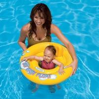 """Круг для плавания с сиденьем Intex """"Мой маленький плот"""" (59574)"""