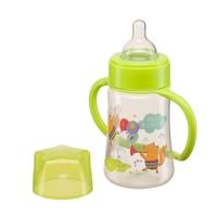 "Бутылочка с ручками Happy Baby ""Baby bottle"", 250 мл., Green 10008G"