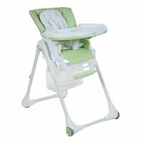 Стул для кормления ELCANTO ECO кожа Light green/Светло-зеленый PITUSO LHB-023