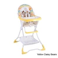 Стульчик для кормления Lorelli Bravo Желтый / Yellow Daisy Bears 1717