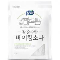 Универсальное чистящее средство CJ Lion Chamgreen, мягкая упаковка 2 кг