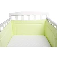 Бортик в кроватку BAMBOLA КАРАМЕЛЬКИ Бязь 43х360 Зеленый