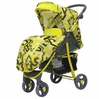 Прогулочная коляска Rant KIRA Plus Labirint (Yellow)