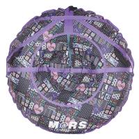 Тюбинг (оболочка, камера, упаковочная сумка) D110 см, LOVE/PEACE сн030.110