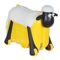 Каталка-чемодан SAIPO ОВЕЧКА, SC0016 Желтый