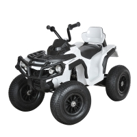 Электро-Квадроцикл ZHEHUA BDM-0906 12V/10Ah, 35W*2, надувные колеса, белый WHITE
