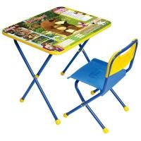 """Комплект мебели (стол+стул) """"Маша и Медведь"""" Ловись рыбка арт. КП/5, Ника"""