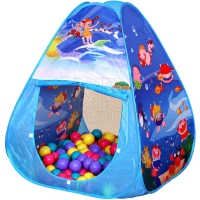 Ching Ching Игровой дом + 100 шаров  ОКЕАН (треугольник)  CBH-01