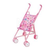 FEI LI TOYS Кукольная коляска/трость  35.5x24.5x52 см, розовый, FL6066-C