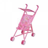 FEI LI TOYS Кукольная коляска/трость  35.5x24.5x52 см, розовый, FL6066-AC