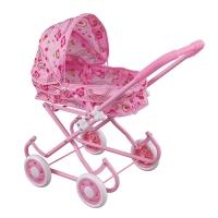 FEI LI TOYS Кукольная коляска 37,5х31х50 см, розовый, FL738