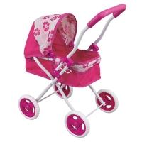 FEI LI TOYS Кукольная коляска 45х36х62,5 см, розовый, FL8155-1