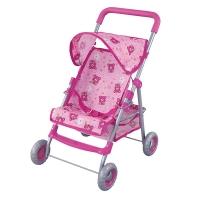 FEI LI TOYS Кукольная коляска 46х35,5х63 см, розовый, FL8186