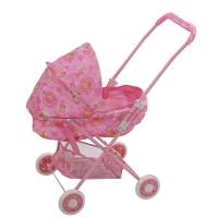 FEI LI TOYS Кукольная коляска 42x35.5x66,5 см, розовый, FL731