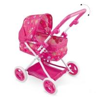 FEI LI TOYS Кукольная коляска 65,5х42х93 см, розовый, FL8137-1
