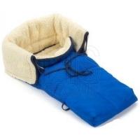 KHW Конверт для санок искусственный мех SNOW BABYSACK Синий