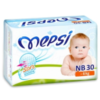 Mepsi Подгузники NB от 0 до 6 кг, 30 шт