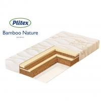 PLITEX Матрас BAMBOO NATURE кокос+латекс (119х60х11см)БН-119-01