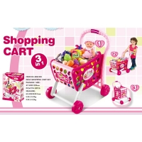 XIONG CHENG Тележка для супермаркета GIRL 65,5х55х49,5 см арт. 008-903