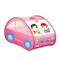 """YONGJIA Игровой дом """"Автомобиль"""" Розовый (130х71х75) арт.889-58B"""