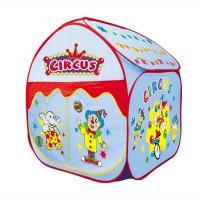 YONGJIAИгровой дом Большой цирк Голубой (81х81х100) арт.889-105B