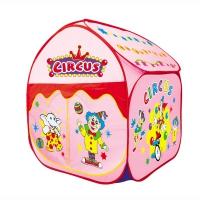 YONGJIAИгровой дом Большой цирк Розовый (81х81х100) арт.889-108B