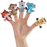 "Набор игрушек на пальчики Happy Baby ""Fun Amigos"" 32010"