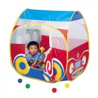 Игровой складной дом + 100 шаров (автомобиль) Calida 654