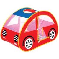 """Игровой домик """"Автомобиль"""" + 100 шаров (116х116х112 см), Calida 653"""