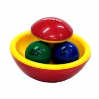 Погремушка-неваляшка развивающая с шариками, Maman 9032