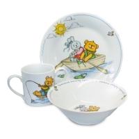 Набор детской посуды фарфор Maman HY-170-A