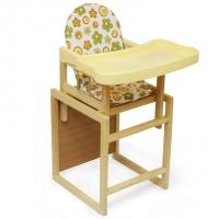 """Стул-стол для кормления с пластик. столешницей Globex """"Мишутка"""""""