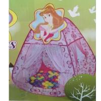 Игровой домик Принцесса NEW + 100 шаров