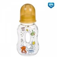 Бутылочка пластиковая фигурная с носиком, 56/201, Canpol Babies