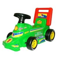 """Каталка-автомобиль гоночный """"Трек"""", арт. 7987 Полесье"""