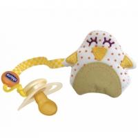 Прищепка для пустышки с мягкой текстильной игрушкой, Chicco 00584
