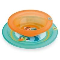Набор для кормления (тарелка мелкая и глубокая), Chicco