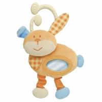 """Мягкая игрушка Кролик Блинки """"Смешная фигурка"""", Chicco 00021"""