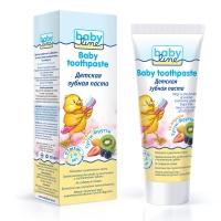 Детская зубная паста со вкусом ТУТТИ-ФРУТТИ, 75 мл, Babyline ДВ013
