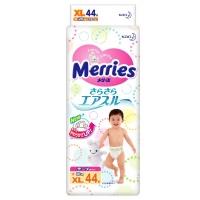 Подгузники Merries, размер XL, от 12 до 20 кг, 44 шт