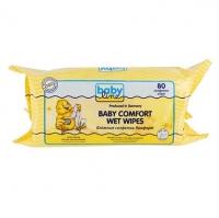 Детские влажные салфетки Комфорт, 80 шт., Babyline 208027