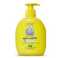 Жидкое крем-мыло с оливковым маслом и алоэ вера, Ушастый нянь А12209