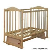 Кроватка СКВ-2 (поперечн.маятн.+ автост.+накладки)
