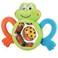 Погремушка-прорезыватель Happy Baby Смешной лягушонок, 330303