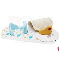 Антискользящий коврик 2 в 1 для ванной со стульчиком, Roxy Kids BM-4091CH