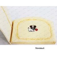 Бортик для детской кроватки с аппликацией арт. 10071, Мама Шила