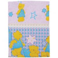 Комплект постельного белья 3 предмета Мишка в звездах арт.10052