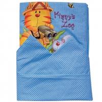Комплект постельного белья 3 предмета с аппликацией арт. 10041
