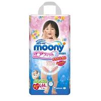 Трусики для девочек MOONY, размер L, 9-14 кг, 44 шт (ДИСНЕЙ)